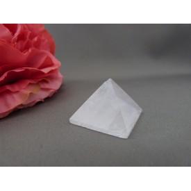 Roze Kwarts piramide 2,5 cm