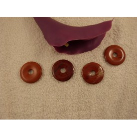 Jaspis Rood Donut 40 mm