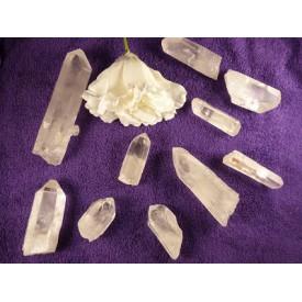 Bergkristal punt gewicht 85...